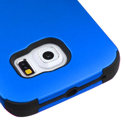 Galaxy S6 Edge Blue Tuff Case