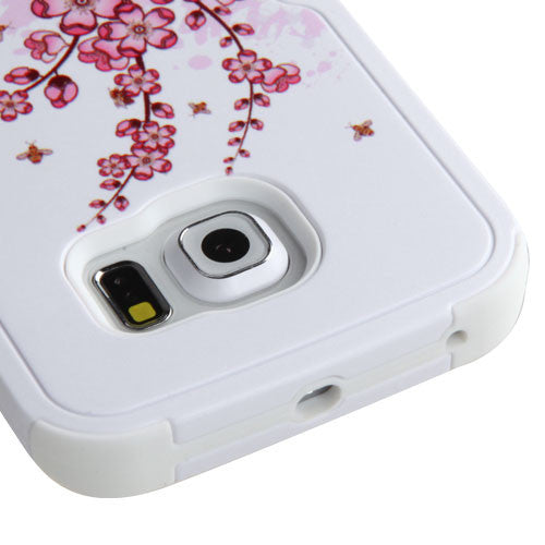 Galaxy S6 Edge Cherry Blossoms Cover, Dial n Style