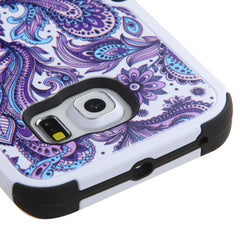 Galaxy S6 Edge European Flowers Cover, Dial n Style