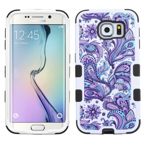 Galaxy S6 Edge European Flowers Case