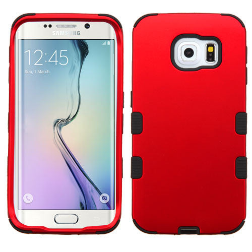 Galaxy S6 Edge Red Tuff Cover, Dial n Style