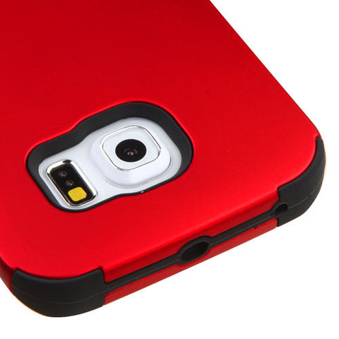 Galaxy S6 Edge Red Tuff Case