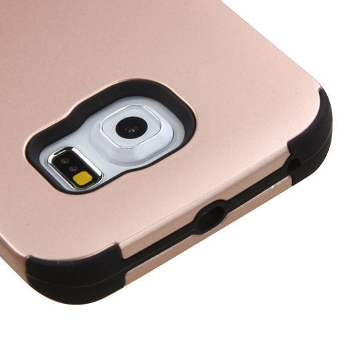 Galaxy S6 Edge Rose Gold Tuff Cover, Dial n Style