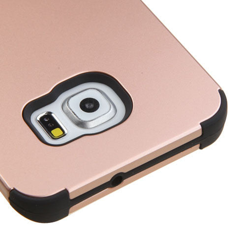 Samsung Galaxy S6 Plus Rose Gold Tuff case, Dial n Style