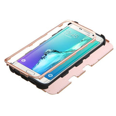 Samsung Galaxy S6 Edge Plus Rose Gold Tuff Case, Dial n Style