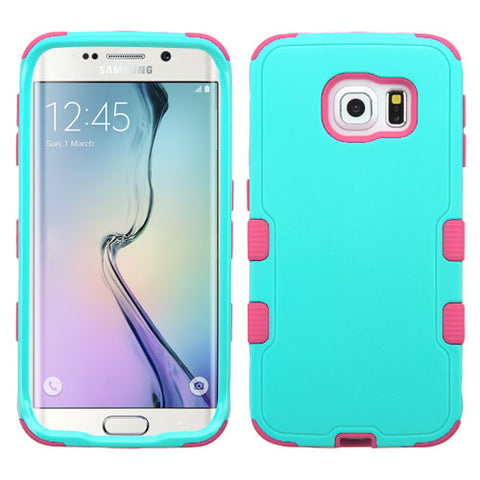 Galaxy S6 Edge Teal Tuff Case
