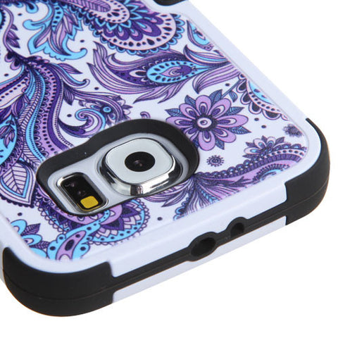 Galaxy S6 European Flowers Case