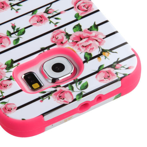Galaxy S6 Blue Fresh Roses Case, Dial N Style