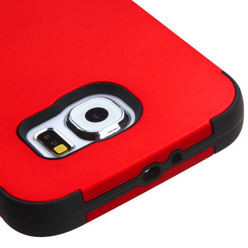 Galaxy S6 Red Tuff Case, Dial N Style