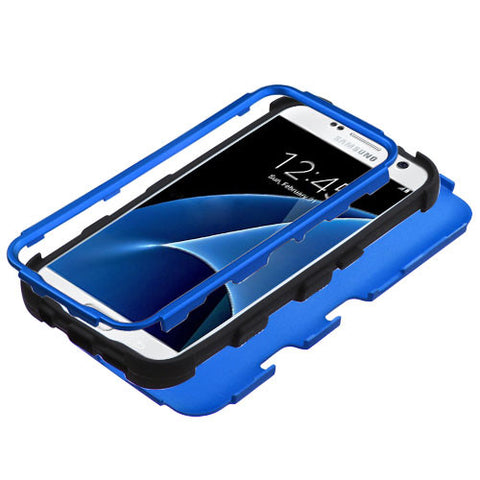 Galaxy S7 Blue Tuff Case