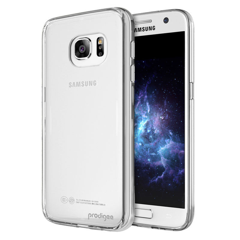 Prodigee Scene Clear Transparent Cover, Galaxy S7, Dial n Style