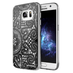 Prodigee Scene Black Lace Cover, Galaxy S7, Dial n Style