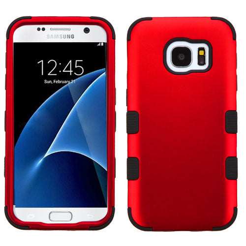 Samsung Galaxy S7 Red Tuff case, Dial n Style