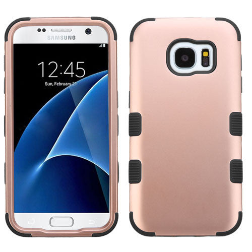 Samsung Galaxy S7 Rose Gold Tuff case, Dial n Style