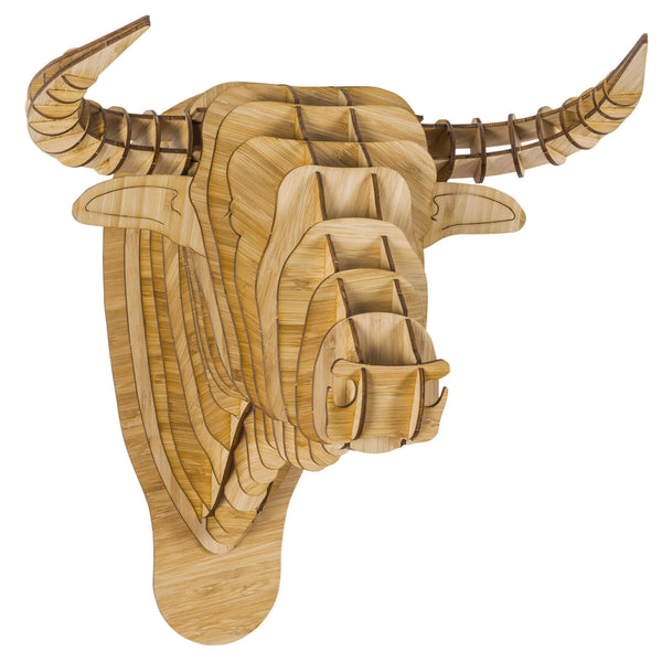 Toro the Bamboo Bull Head