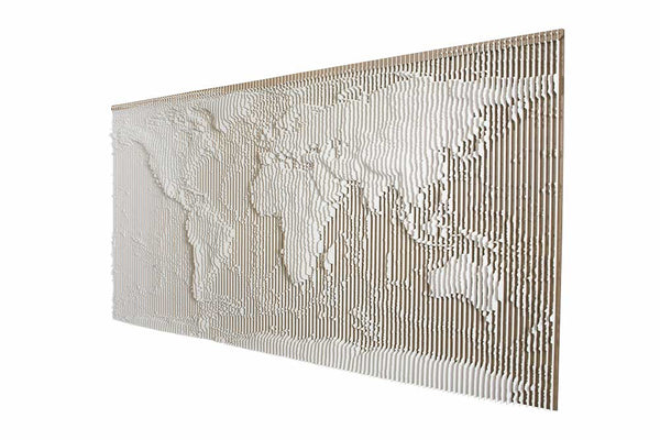 Contour Panel Kit - World Continents