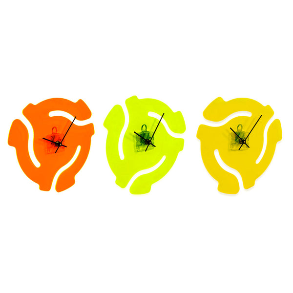 45 RPM Record Adapter Clock
