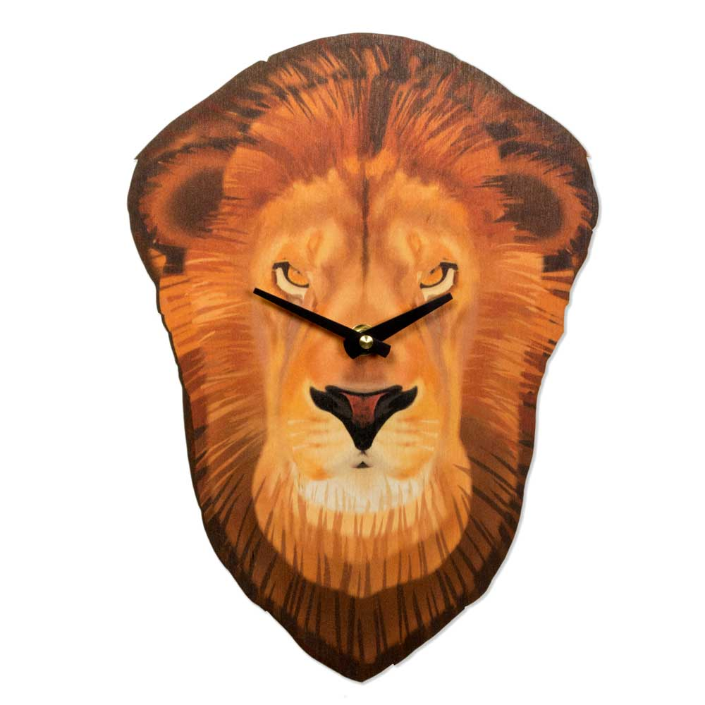 Animal Head Wall Clocks