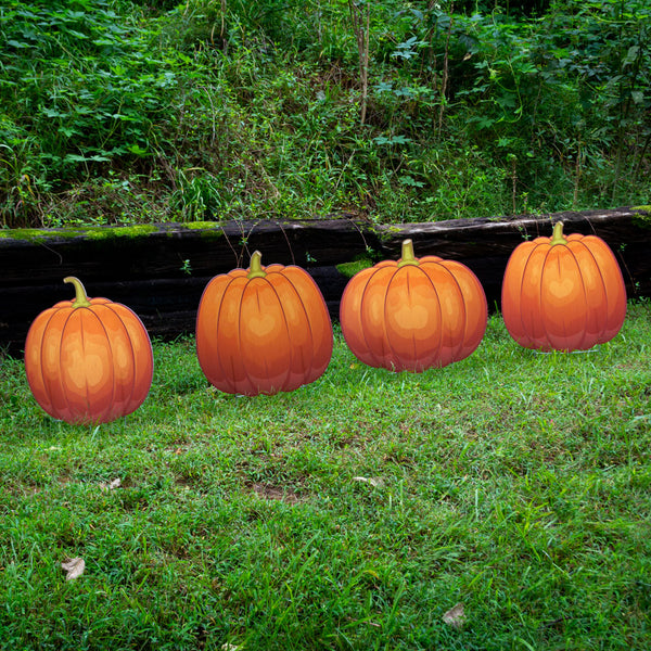 Pumpkin Lawn Decorations