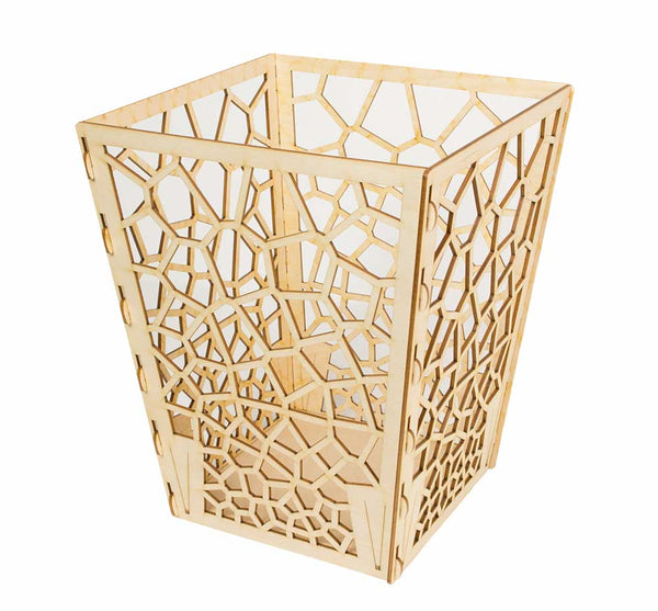 Wooden Waste Basket