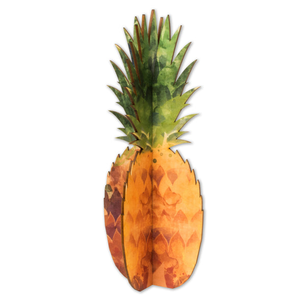 Wood Pineapple