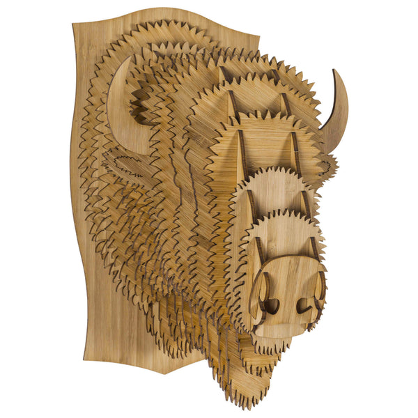 Billy the Bamboo Bison Head