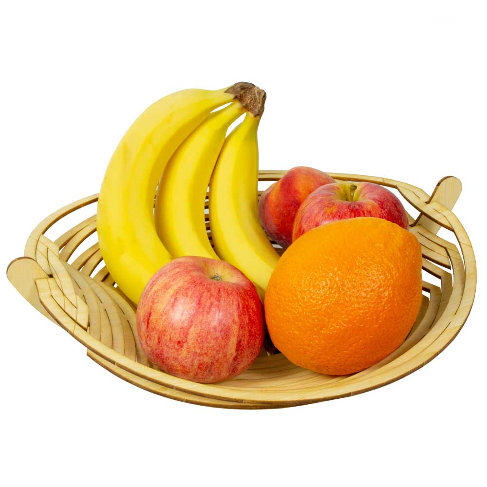 Bamboo Fruit Bowl