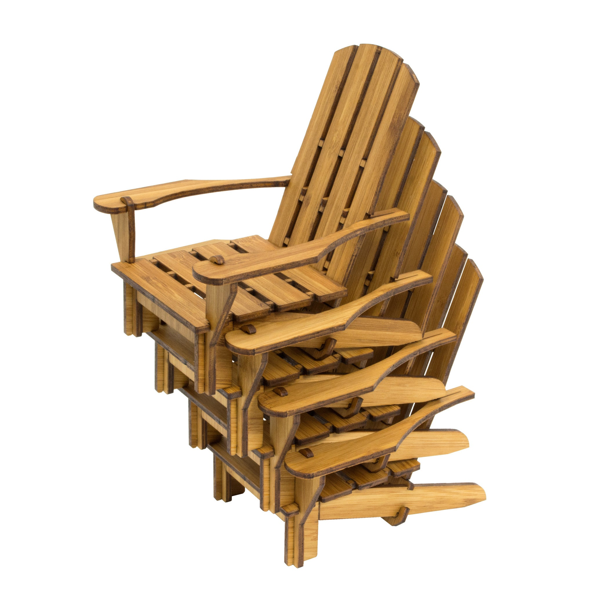 ... Adirondack Chair Coaster Bamboo ...