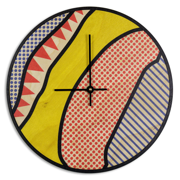 Wood Wall Clock Art Prints