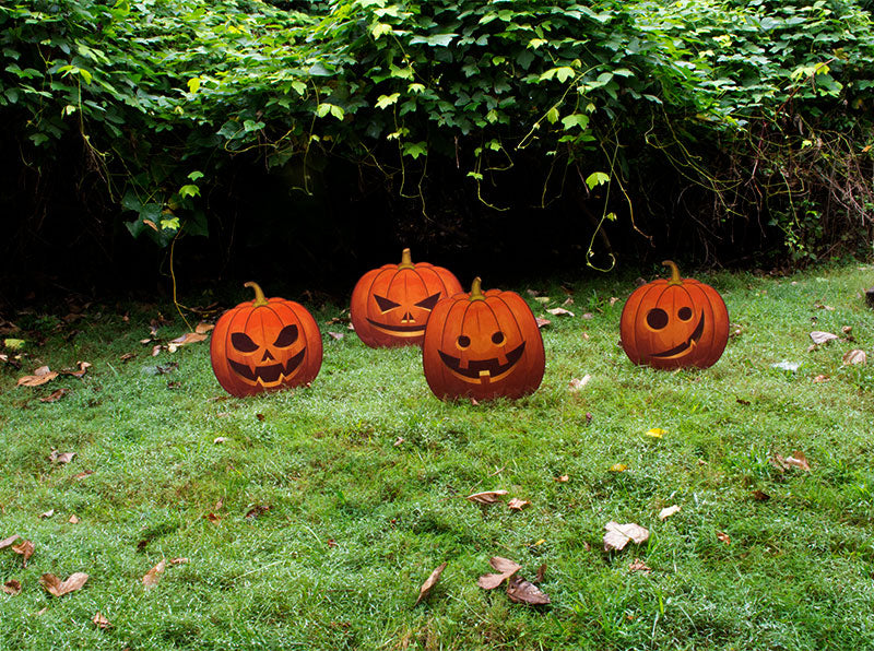 Jack-O-Lantern Lawn Decorations