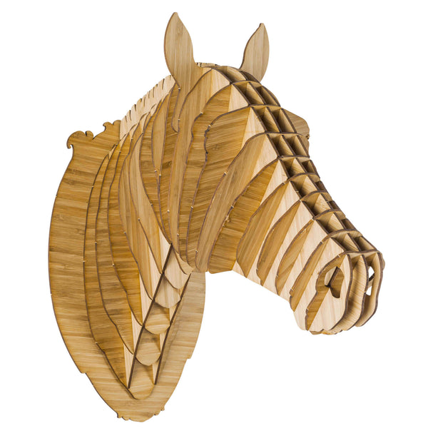 Pippin the Bamboo Horse Head