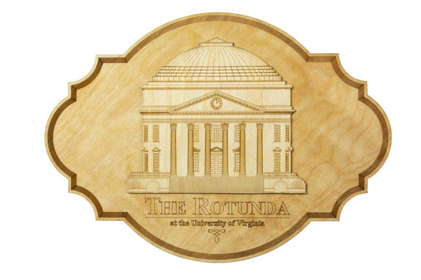 UVA Rotunda Plaque