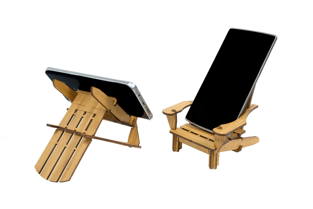 Adirondack chair coaster bamboo