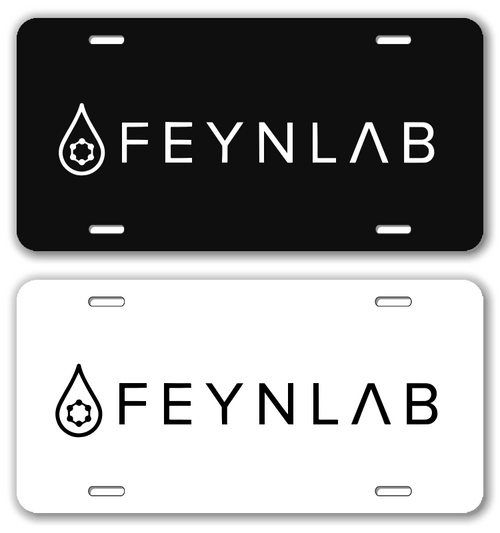 FEYNLAB LICENSE PLATE
