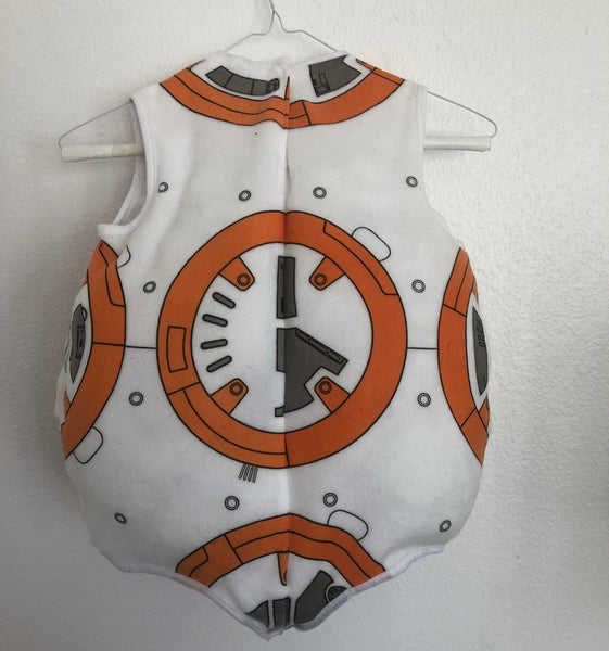BB8 Skating Costume -- Child Extra Small