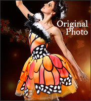 """Butterfly"" Skating Dress/Costume"