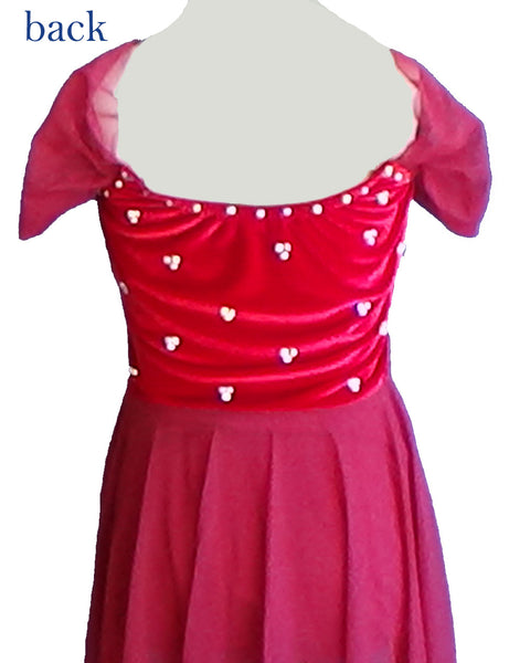 Red Skating Dress