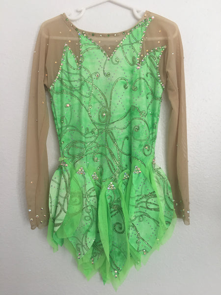 """Tinkerbell"" Costume/Dress with Light Up Wings"