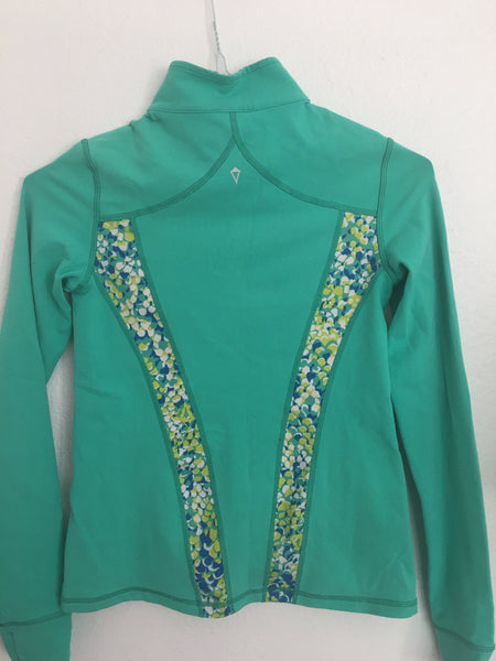 Ivivva Perfect Your Practice Jacket -- Teal Green