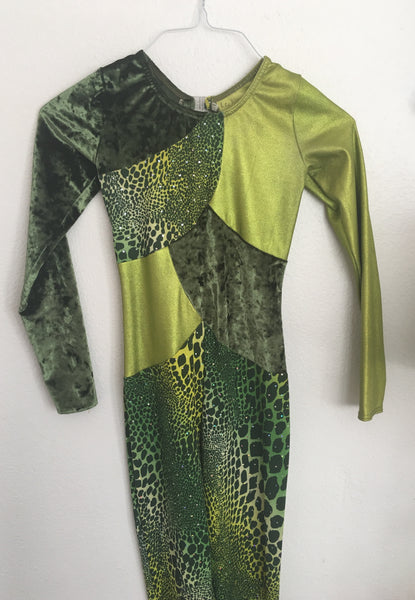 Crocodile Unitard Costume