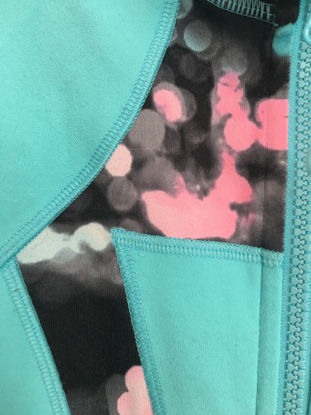 Ivivva Perfect Your Practice Jacket -- Blue
