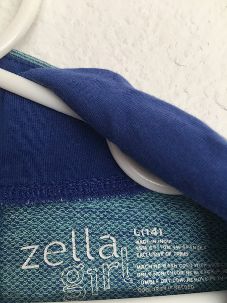 Zella Girl Jacket -- Blue
