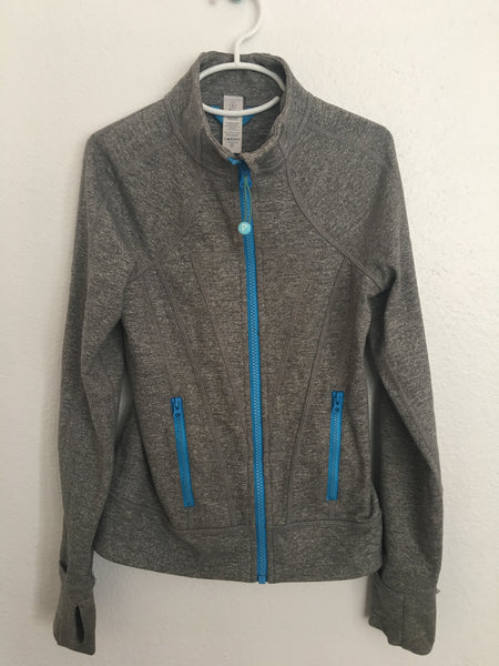 Ivivva Perfect Your Practice Jacket -- Gray