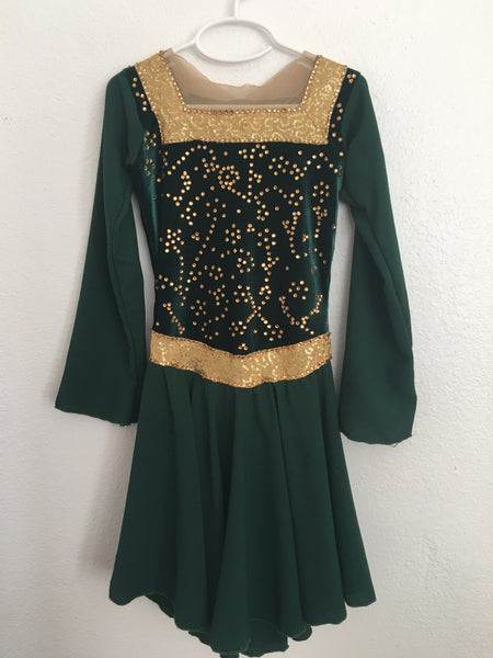 """Princess Fiona"" Skating Dress/Costume"