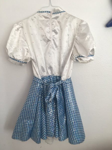 Dorothy Skating Dress/Costume from Wizard of Oz
