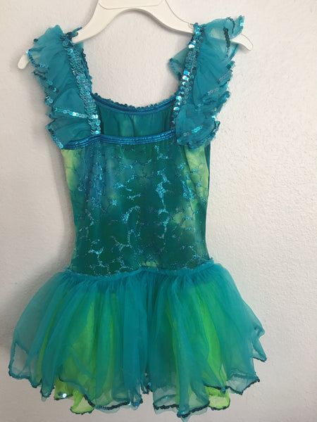 """Fish"" Skating Dress/Costume"