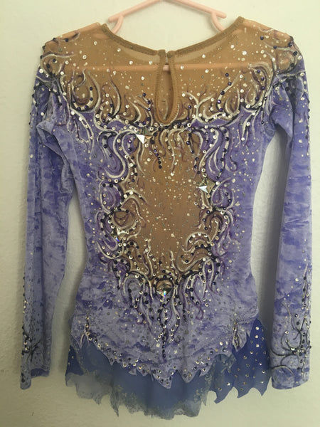 Lavender Skating Dress