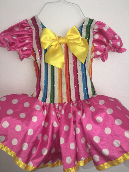Pink Polka Dot Dress/Costume