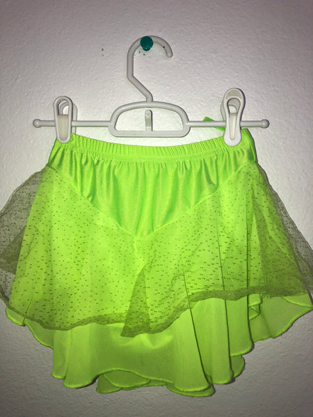 Light Green Skating Skirt -- Child Size M/L