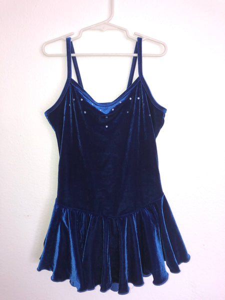 Dark Blue Skating Dress